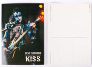 KISS Postcard - Gene Creatures live