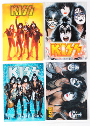 KISS Postcard - Aquarius, set of 4