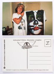 KISS Postcard - Peter with Shirt