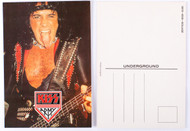 KISS Postcard - Gene Lick It Up