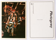 KISS Postcard - Paul, Bruce Animalize
