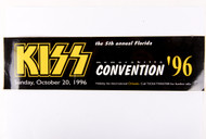 KISS Bumper Sticker - KISS Convention 1996