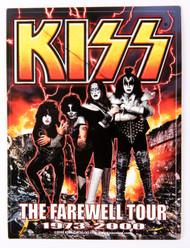 KISS Sticker - KISS Farewell fire