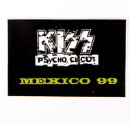 KISS Sticker - Mexico 1999