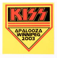 KISS Sticker - Winnipeg, 2003