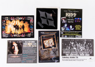 KISS Postcards and Stickers - assorted set of 6, (C)
