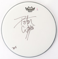 "Peter Criss Autographed 14"" Drumhead, (D)"