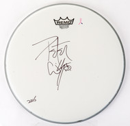 "Peter Criss Autographed 14"" Drumhead, (A)"