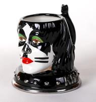KISS Mug - Ceramic Head, Peter (classic 2002 version), NO BOX
