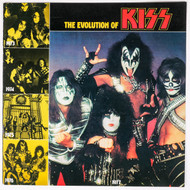 KISS Insert - The Evolution of KISS Booklet