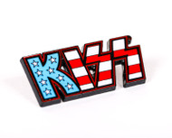 KISS Pin - American Flag