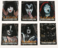 KISS Trading Cards - 360 Lenticular Transformation, SINGLES