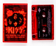 KISS Cassette Tape - You Wanted the Best, (RED)
