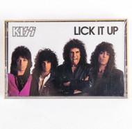 KISS Cassette Tape - Lick it Up, (SEALED)