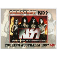 KISS Poster - Greatest KISS Australian CD ad '97