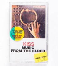 KISS Cassette Tape - Music From the Elder, (SEALED)