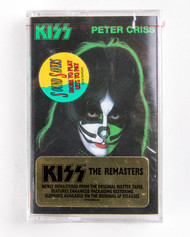 KISS Cassette Tape - Peter Criss Solo, The Remasters Series, (SEALED)