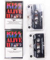 KISS Cassette Tape - Alive II, (double tape)