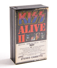KISS Cassette Tape - Alive II, (Columbia House version)