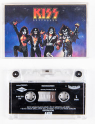 KISS Cassette Tape - Destroyer, (The Remasters edition)