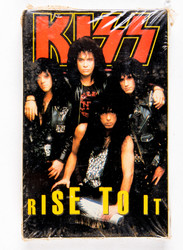 KISS Cassette Tape - Rise To it, cassette single, (SEALED)