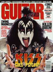 KISS Magazine - Guitar World '98 - GENE