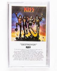 KISS Cassette Tape - Destroyer, (sealed)
