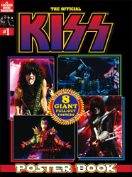 KISS Magazine - The Official KISS Poster Book 2018.