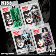 KISS Figures - Dynasty 8-inch, set of 4