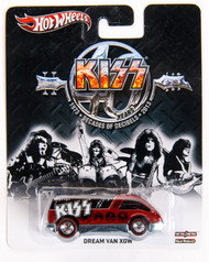 KISS Car - Hotwheels Red Dream Van