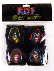 KISS Wristbands - Solo Faces, set of 4