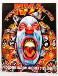 KISS Tourbook - Psycho Circus 1998, DODGER STADIUM