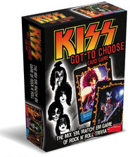 Got to Choose KISS Card Game