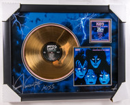 KISS Vinnie Vincent Autographed Creatures Gold Record, (08/50)