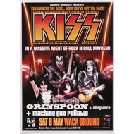 KISS Poster - Australian 2004 Concert Poster