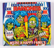 Audio CD - Ramones Tribute, We're a Happy Family