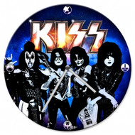 KISS Blue Wall Clock