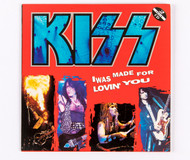 KISS Audio CD - I Was Made For Loving You, (Alive III), CD single, (paper sleeve)
