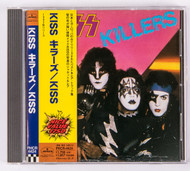 KISS Audio CD - Killers, JAPAN, 1998 w/obi