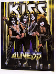 KISS Tourbook - Alive 35, GERMANY.