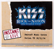 KISS CD - Instant Live - Dallas TX, 2004