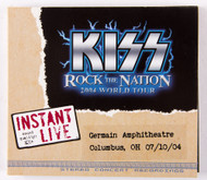 KISS CD - Instant Live - Columbus OH, 2004
