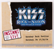 KISS CD - Instant Live -Hershey PA, 2004