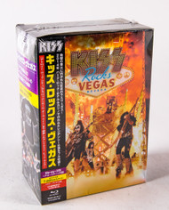 KISS BLu-Ray - KISS Rocks Vegas, Blu-Ray + 2 CDs, JAPAN Box Set, (8/10)