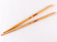KISS Drumsticks - Eric Singer, stage-used, Cat Club, 2003