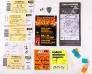 KISS Concert Pack - Australia 2004, tickets, passes, picks