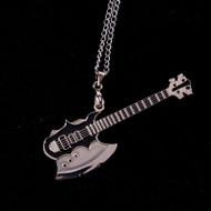 KISS Logo Necklace - Gene Simmons Axe Bass