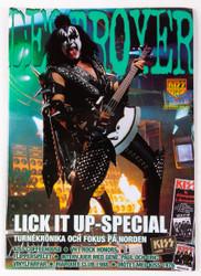 KISS Magazine - Destroyer, Sweden 2006, #16