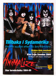 KISS Magazine - Destroyer, Sweden 2009, #24