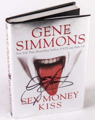 KISS Autograph - Gene Simmons, Sex Money KISS, (A)